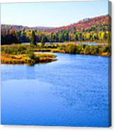 Autumn In The Adirondacks IIi Canvas Print