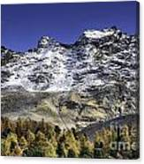 Autumn In The Alps 1 Canvas Print