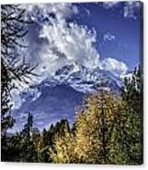 Autumn In The Alps 2 Canvas Print