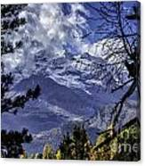 Autumn In The Alps 3 Canvas Print