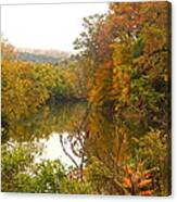 Autumn In The Butternut Valley-five Canvas Print