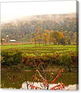 Autumn In The Butternut Valley-six Canvas Print