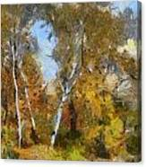Autumn In The Marshes Canvas Print