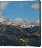 Autumn In The Sangres Canvas Print