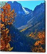 Autumn In The Sierras Canvas Print
