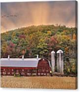 Autumn In Wellsboro Canvas Print