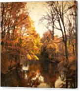 Autumn Lingers Canvas Print