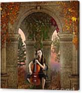 Autumn Melody Canvas Print