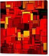 Autumn Modern Abstract Xv Canvas Print