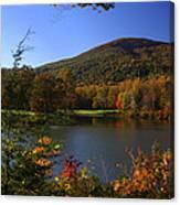 Autumn Mountain View Canvas Print