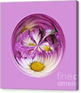 Autumn Mum Orb Abstract Canvas Print