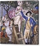 Autumn, Negro Servant, C.1780 Canvas Print