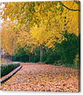 Autumn - New York City - Fort Tryon Park Canvas Print