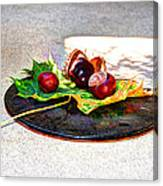 Autumn Offering Canvas Print