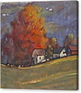Autumn On Airyhill Canvas Print