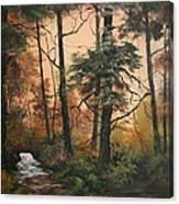 Autumn On Cannock Chase Canvas Print
