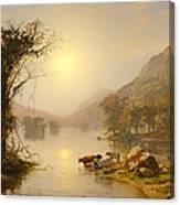 Autumn On Greenwood Lake Canvas Print