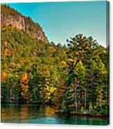 Autumn On Lake George Canvas Print