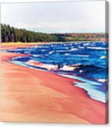Autumn On Lake Superior Canvas Print