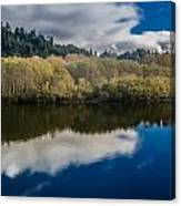 Autumn On The Klamath 10 Canvas Print