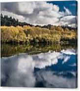 Autumn On The Klamath 11 Canvas Print