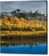 Autumn On The Klamath 2 Canvas Print