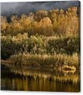 Autumn On The Klamath 3 Canvas Print