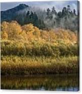 Autumn On The Klamath 4 Canvas Print