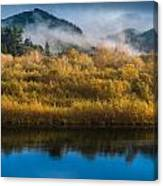 Autumn On The Klamath 5 Canvas Print