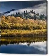 Autumn On The Klamath 6 Canvas Print