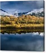 Autumn On The Klamath 7 Canvas Print