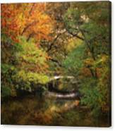 Autumn On The River Canvas Print