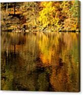 Autumn On Ullswater Canvas Print