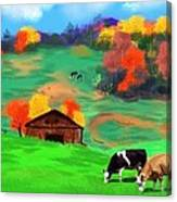 Autumn Pastures Canvas Print