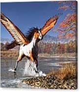 Autumn Pegasus Canvas Print