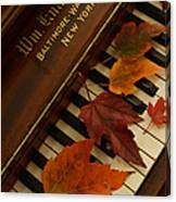 Autumn Piano 11 Canvas Print
