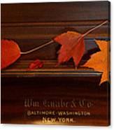 Autumn Piano 3 Canvas Print