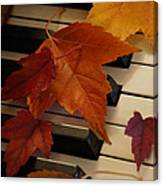 Autumn Piano 6 Canvas Print