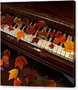Autumn Piano 7 Canvas Print