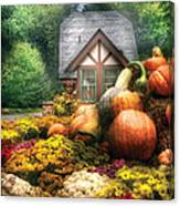 Autumn - Pumpkin - This Years Harvest Was Awesome  Canvas Print