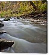 Autumn Rapids Canvas Print