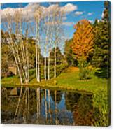 Autumn Reflecting Canvas Print