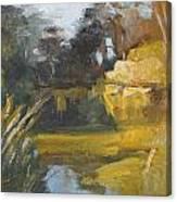 Autumn Reflections Stowe Lake Canvas Print