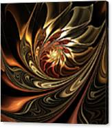 Autumn Reverie Abstract Canvas Print