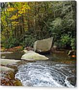 Autumn River Fall Canvas Print