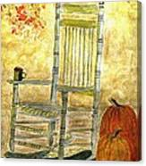 Autumn Rocks Canvas Print
