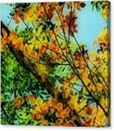 Autumn Scenery Canvas Print