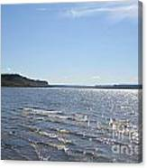 Autumn Shore Canvas Print