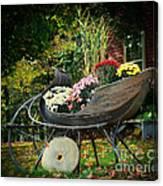 Autumn Sleigh Canvas Print
