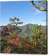 Autumn Smoky Mountains Canvas Print
